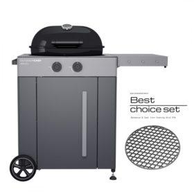 Ψησταριά υγραερίου BBQ Outdoorchef Arosa 570 Grey Steel-18.128.33