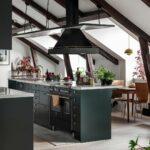 Οικιακή Κουζίνα Αερίου Μαύρη
