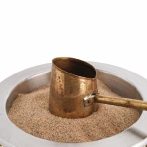 Ελληνικός καφές σε καμινέτο Υγραερίου